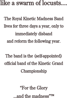 like a swarm of locusts....